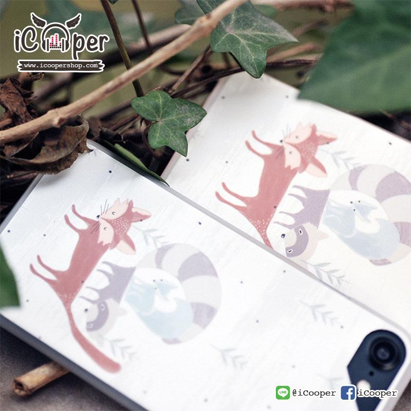 MAOXIN WD Case - Three Fox (iPhone7+/6s+/6+)