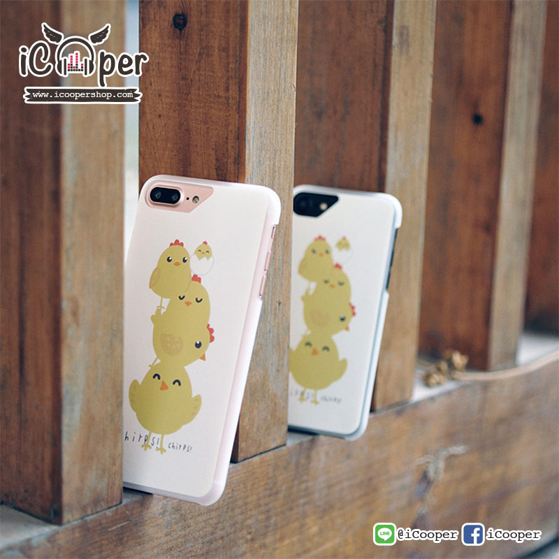 MAOXIN WD Case - Overlap Chicken (iPhone7+/6s+/6+)