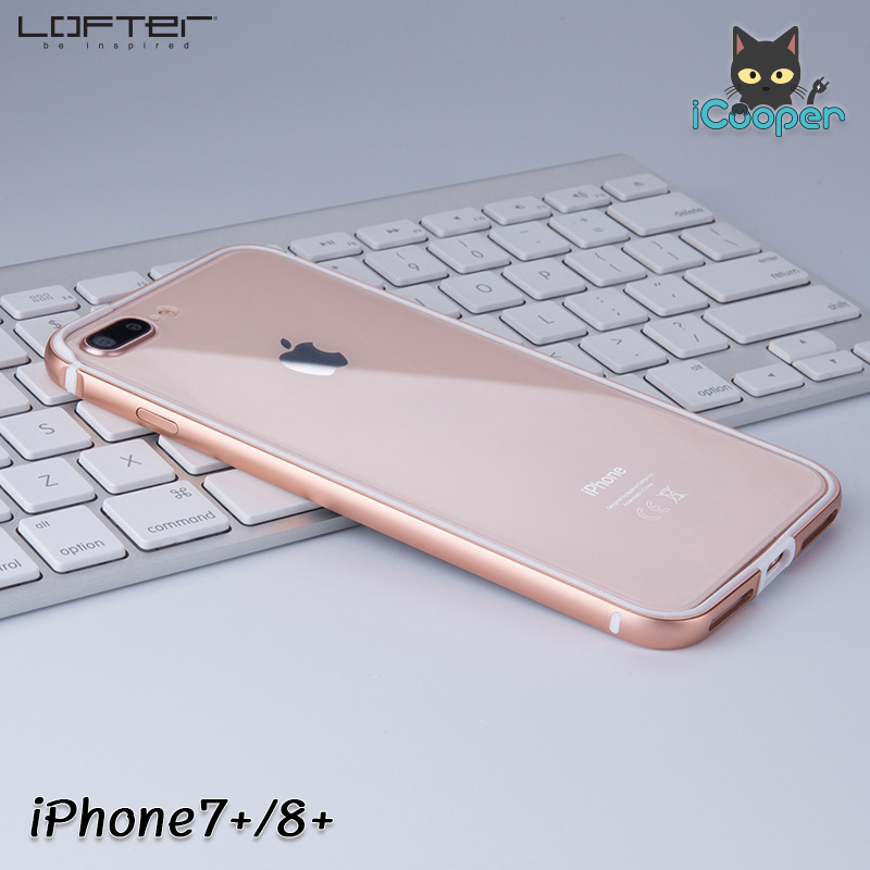 LOFTER Solid Color Bumper #2 - Gold (iPhone7+/8+)