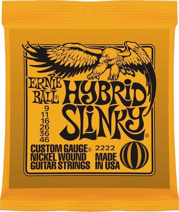 สายกีต้าร์ไฟฟ้า ERNIE BALL HYBRID SLINKY 009-046