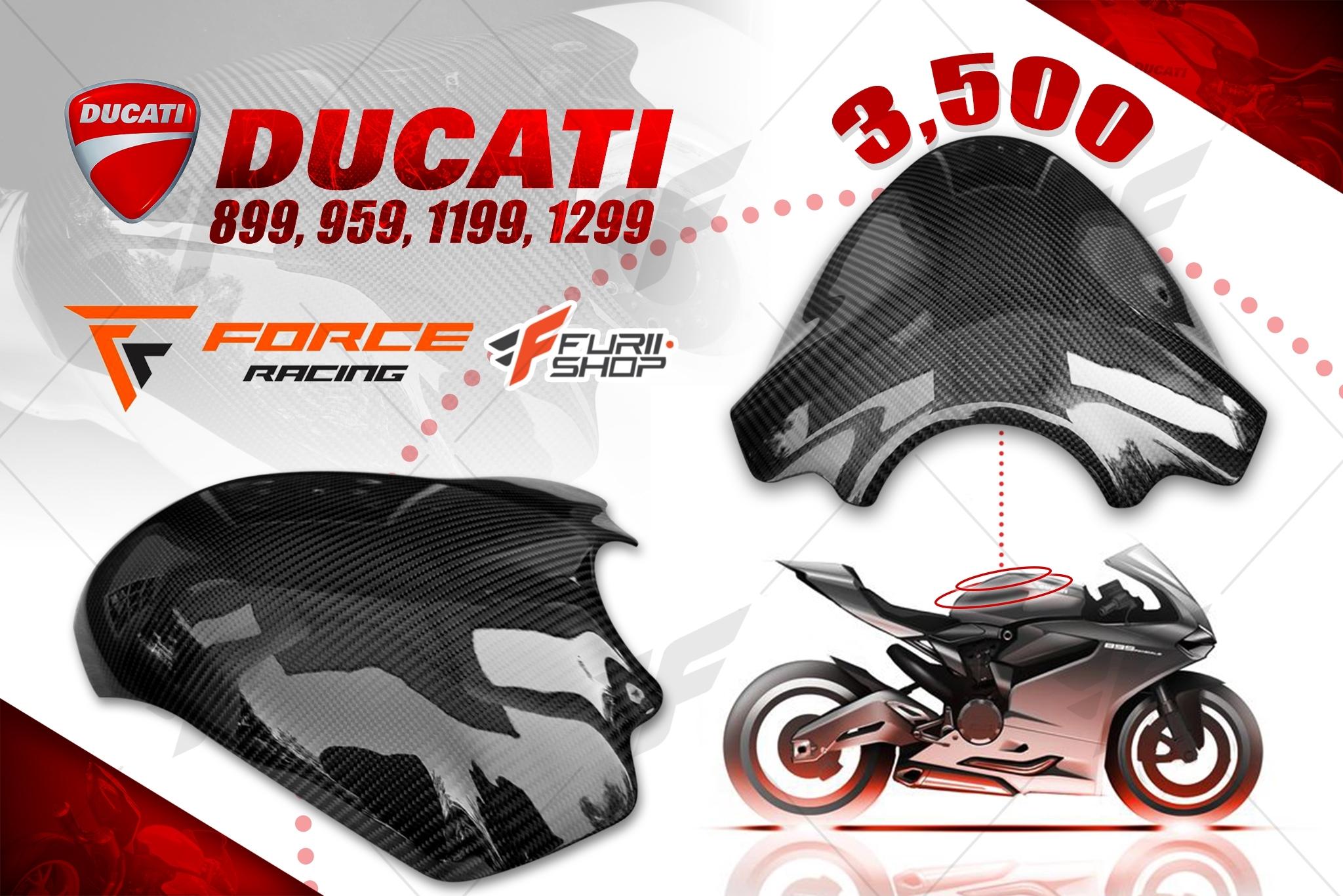 ครอบถังเพรียวเคฟล่า FORCE RACING FOR DUCATI PANIGALE 899 1199