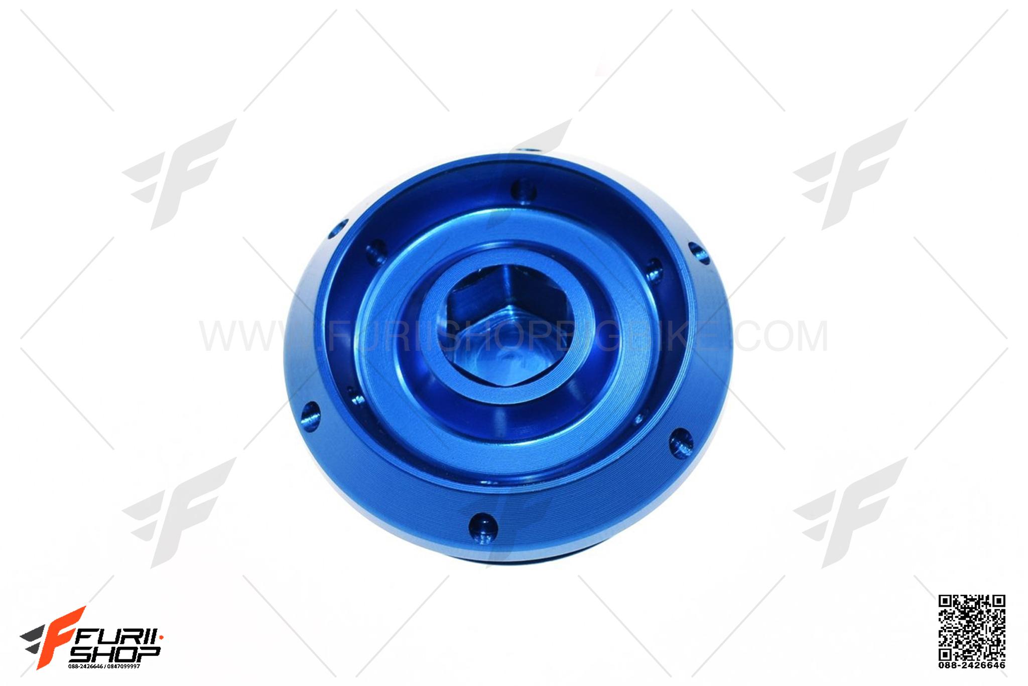 น็อตน้ำมันเครื่อง KAMUII สีน้ำเงิน FOR BMW S1000RR