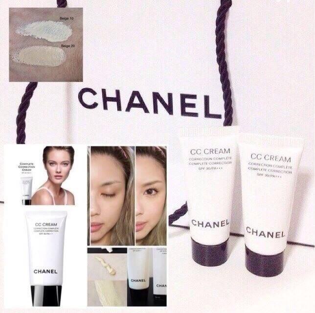 #Chanel CC Cream Complete Correction SPF30 /PA+++ ขนาดทดลอง 5 ML.
