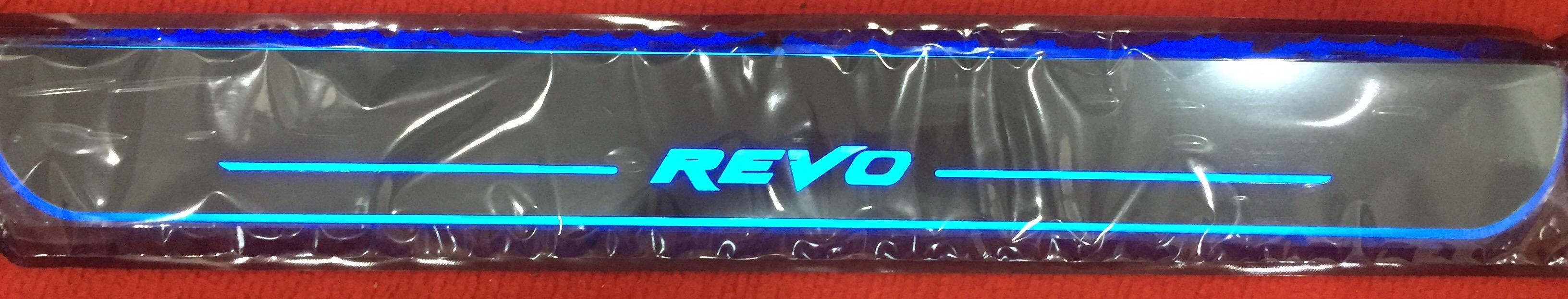 LED sill scuff plate- Revo