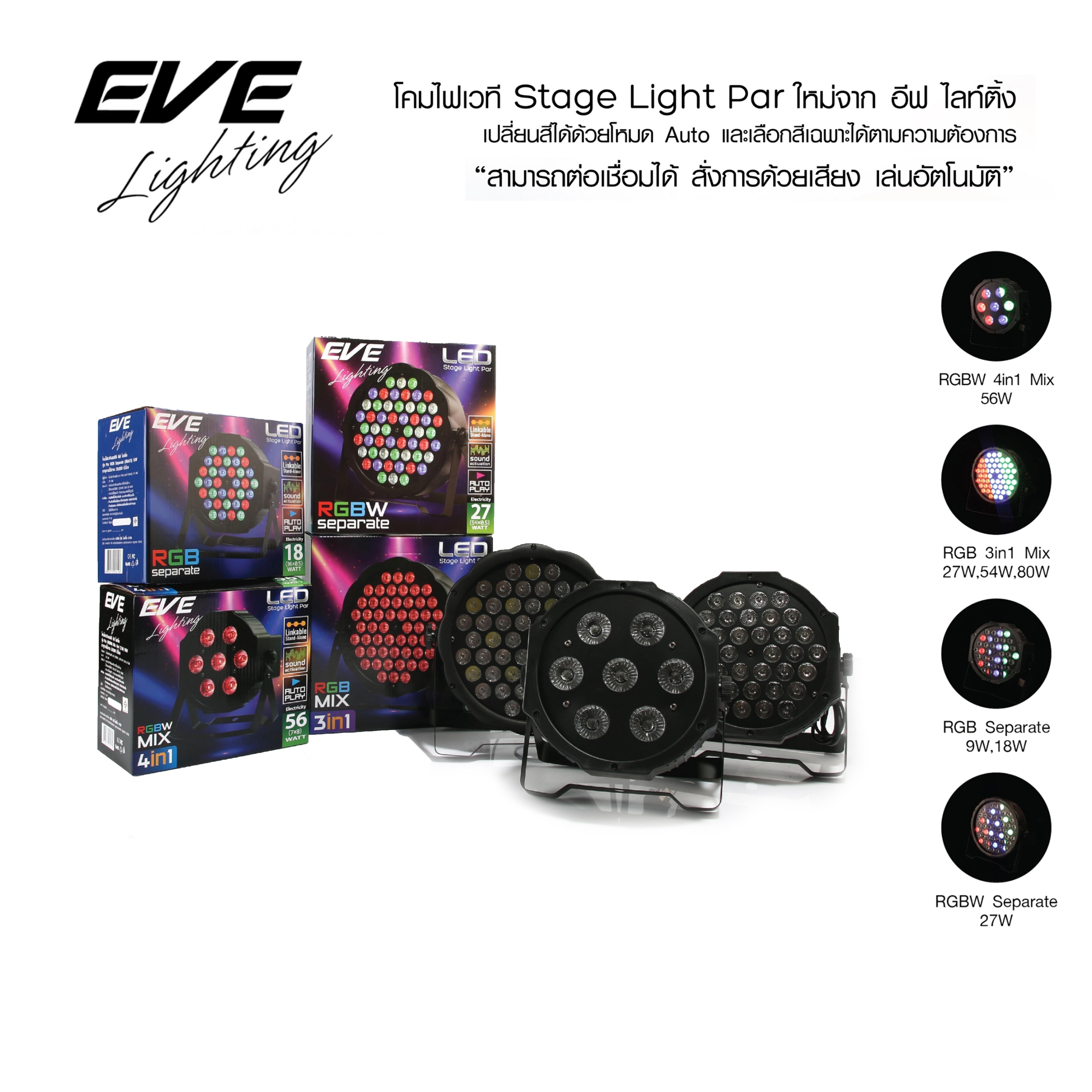 โคมไฟเวที (Led Stage Light Par)