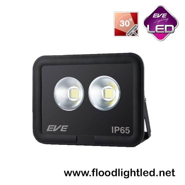 สปอร์ตไลท์ LED 100w รุ่น COB SPOT ยี่ห้อ EVE (แสงขาว)