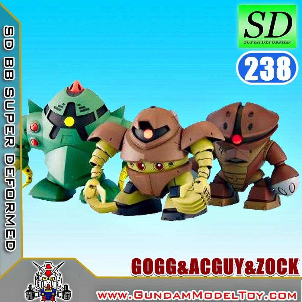 SD BB238 GOGG&ACGUY&ZOCK ก็อจ&แอคกาย&ซ็อค