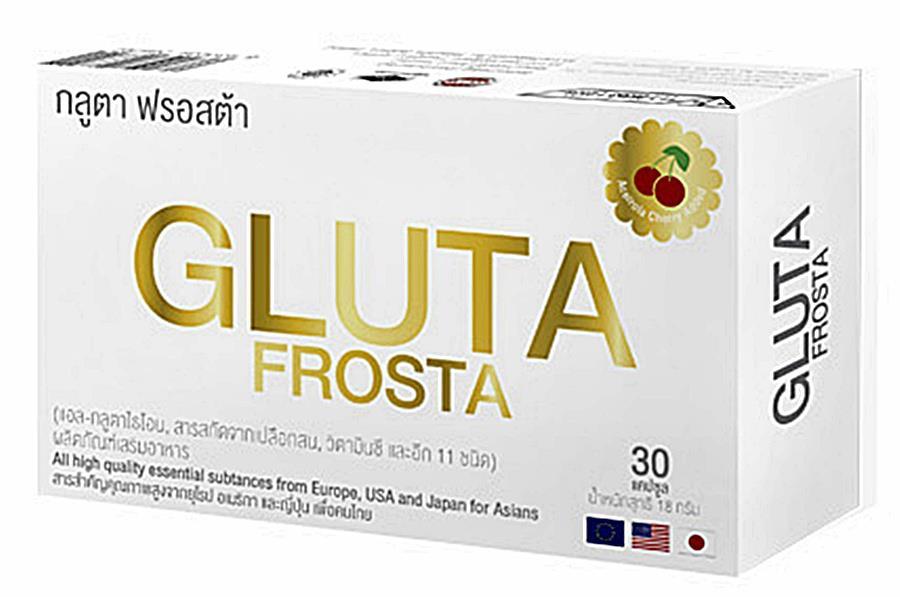 กลูต้า ฟรอสต้า gluta frosta บรรจุ 30 แคปซูล