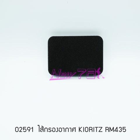 02591 ไส้กรองอากาศ KIORITZ RM435