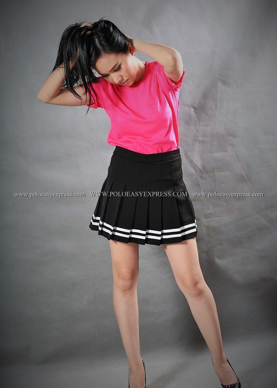 M เสื้อยืด สีชมพู Pinky คอกลม แขนสั้น Size M