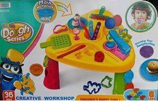 โต๊ะแป้งโดว์กิจกรรม