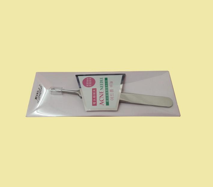 แหนบกดและดึงสิวเสี้ยน Acne Needle