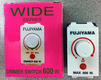 สวิทช์หรี่ไฟ Fujiyama 600W