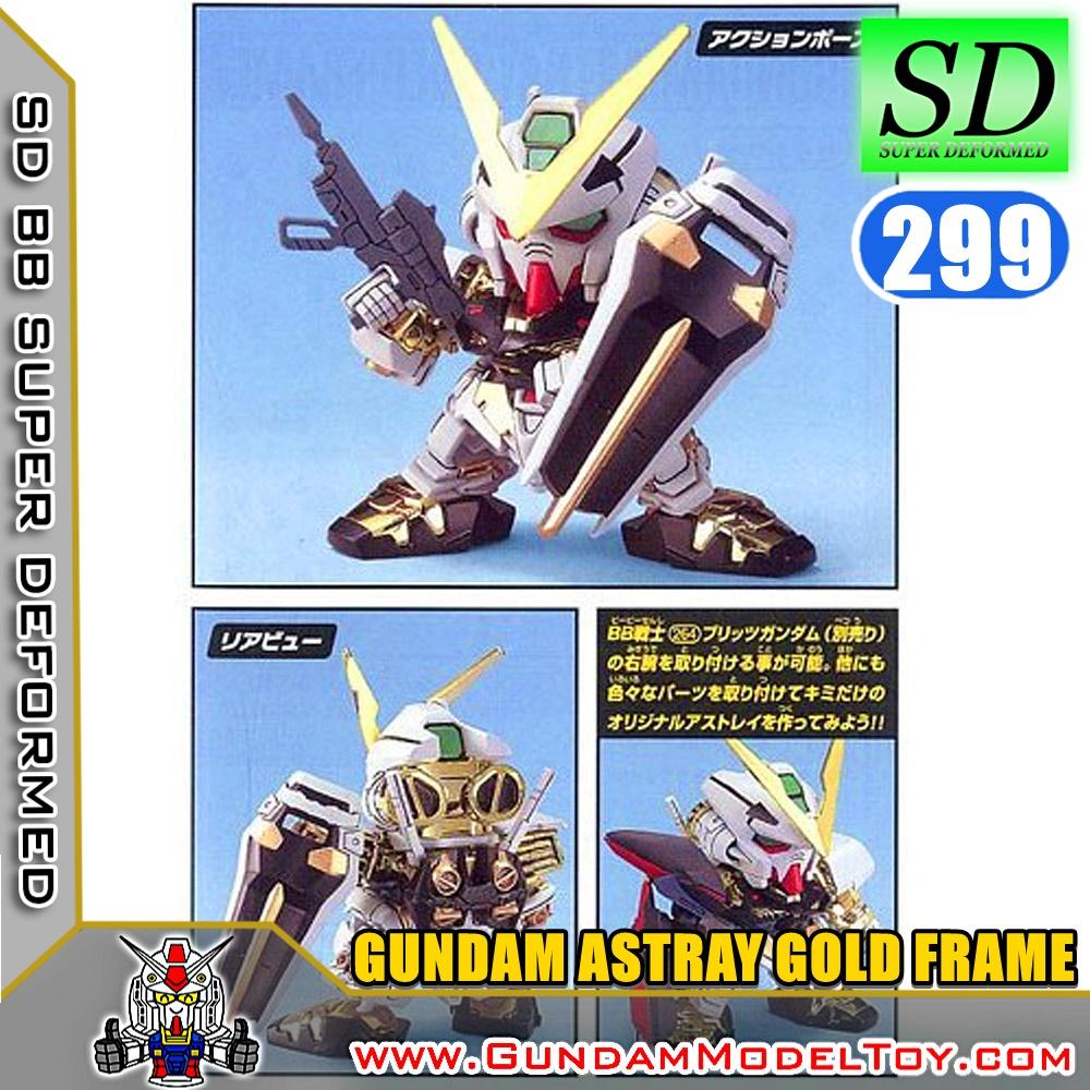 D BB299 GUNDAM ASTRAY GOLD FRAME