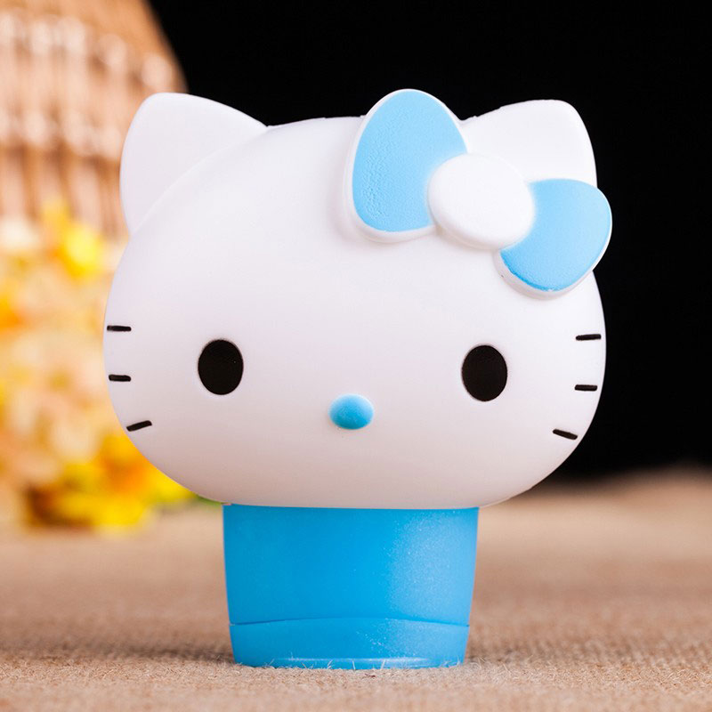 MENGKOU tempting Firming hand cream kitty baby สีฟ้า