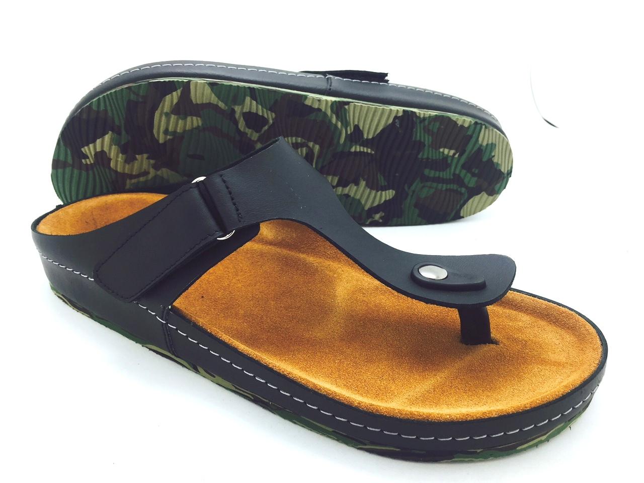 Cork sole leather sandals(men) สำเนา