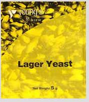 Youngs Lager yeast
