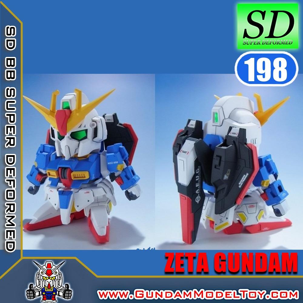 SD BB198 ZETA GUNDAM เซต้า กันดั้ม