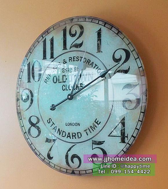 นาฬิกาแขวนสไตล์วินเทจ