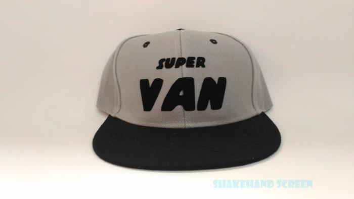 หมวกสกรีนตัวอักษร