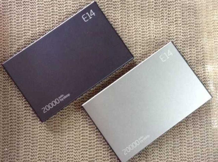 พาวเวอร์แบงค์ แบตสำรอง Eloop E14 20000 mAh สีเงิน ของแท้ ปกติราคา 1,590 ลดเหลือ 890 บาท