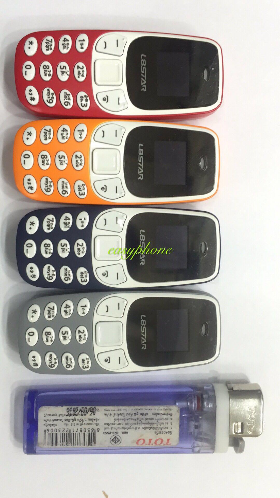 โทรศัพท์จิ๋ว รองรับ3G ใส่ได้2ซิม