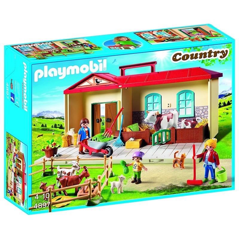 PLAYMOBIL 4897 Country Take Along Farm