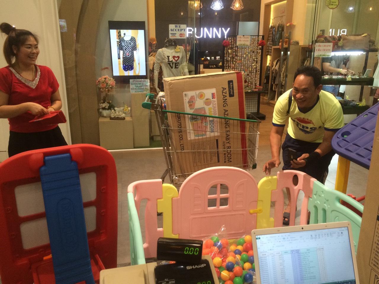รั้วกั้นเด็ก Eduplay เอดูเพลย์ รุ่น Baby Bear Room สีชมพูหวานเขียวอ่อน