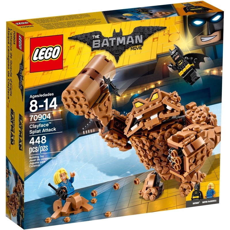 LEGO The Lego Batman Movie 70904 Clayface Splat Attack