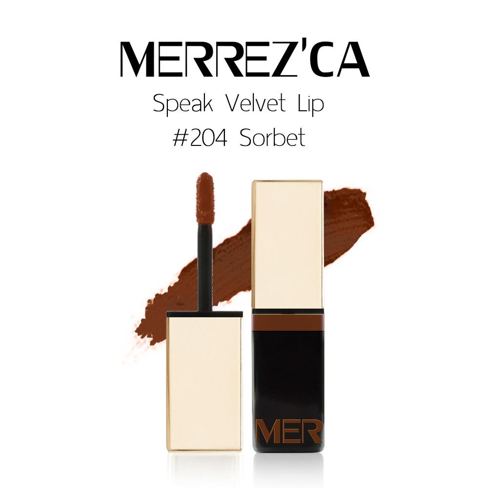 Merrez'Ca Speak Velvet Lip #204 Sorbet