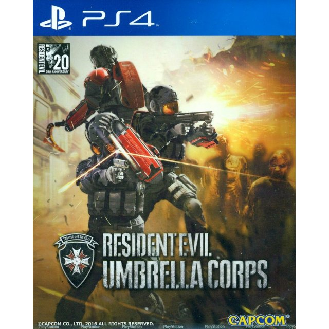 PS4 Resident Evil Umbrella Corps : Z3-Eng
