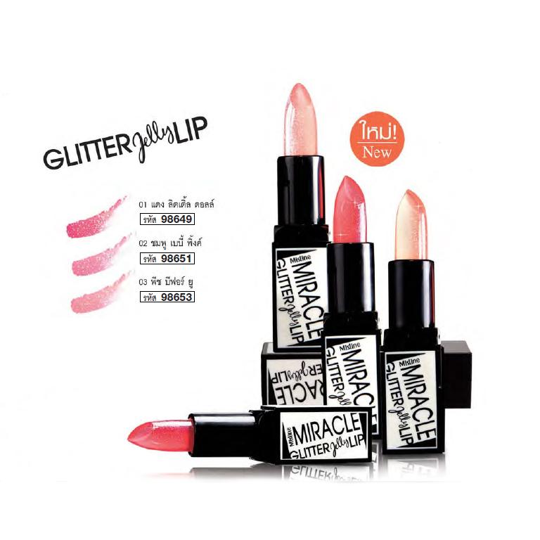 Mistine Miracle Glitter Jelly Lip