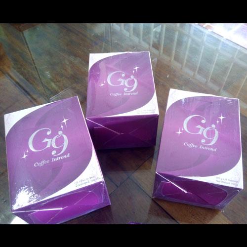G9 G-nine Coffee จีไนน์ คอฟฟี่ อินเทรนด์ 3 กล่องๆ ล่ะ 220 บาท