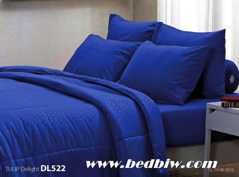 ชุดเครื่องนอน ผ้าปูที่นอน ทิวลิป-ดีไลท์ Tulip Delight สีพื้น พิมพ์ลาย รหัส DL522