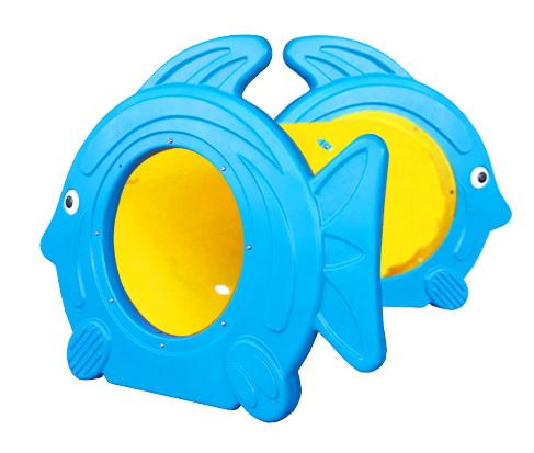 ของเล่นพลาสติก อุโมงค์ปลาการ์ตูนท่อสั้น