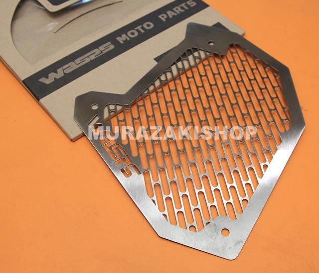 การ์ดหม้อน้ำสแตนเลส WASP AEROX ราคา800