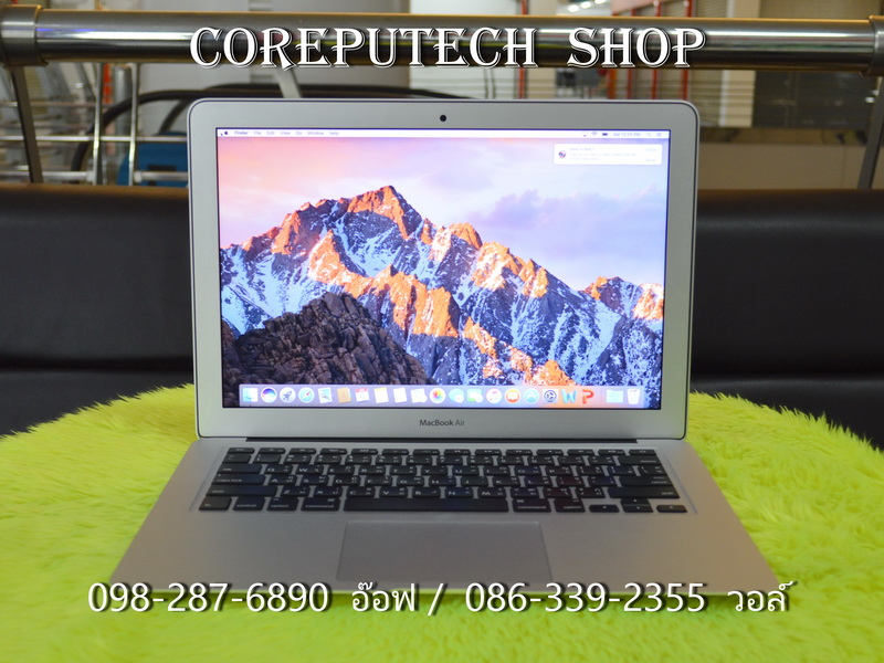 MacBook Air 13-inch Intel Core i5 1.6GHz. Ram 8 SSD 256 Early 2015.
