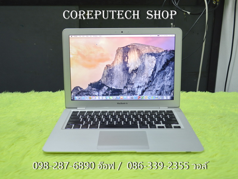 MacBook Air 13-inch Intel Core 2 Duo 1.86Ghz. Mid 2009.