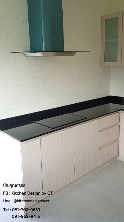 Wooden Modern Kitchen (ชุดครัวบิวท์อินลายไม้สไตล์โมเดิร์น)