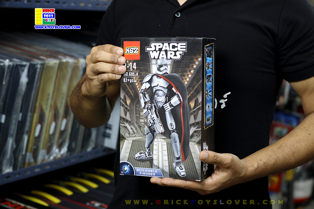 605-4 โมเดลฟิกเกอร์กัปตันฟาสม่า แห่งกองทัพปฐมภาคี Star Wars 7