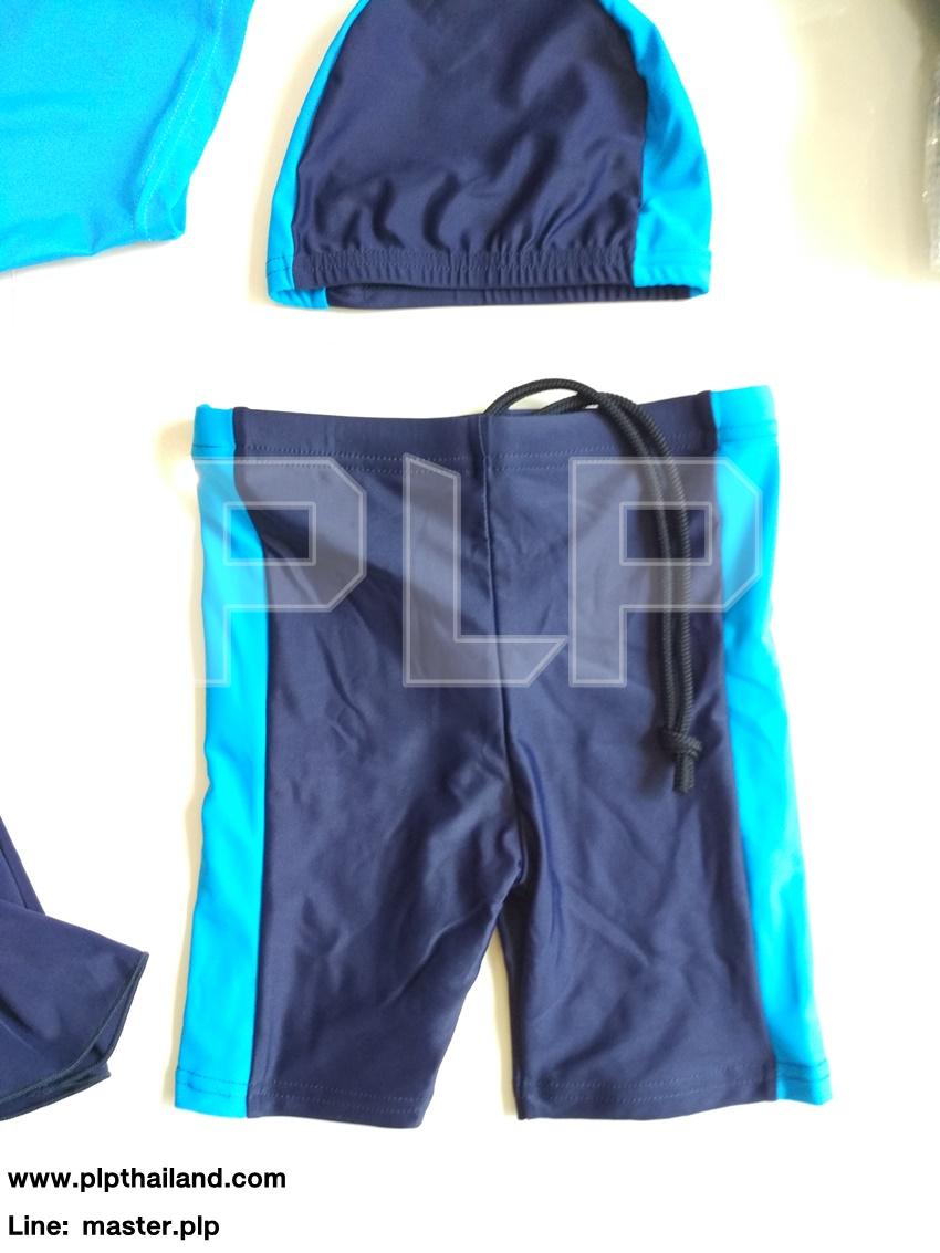 กางเกงว่ายน้ำนักเรียนชาย