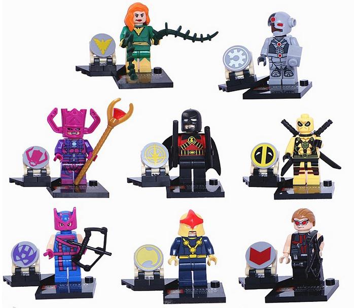 เลโก้จีน SY258 มินิฟิกเกอร์ Marvel ราคาถูก DC & Marvel