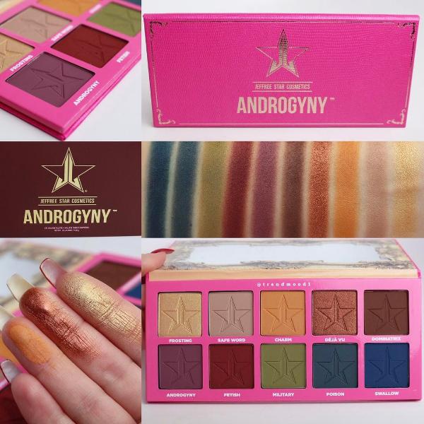 (พรีออเดอร์) jeffree star cosmetics Androgyny Palette