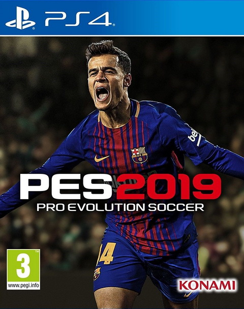 PS4- Pro Evolution Soccer 2019 (PES 2019) Standard Edition