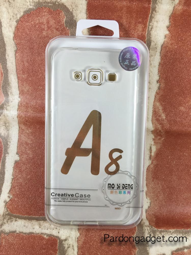 เคสTPUนิ่ม Oppo A8 สีใส