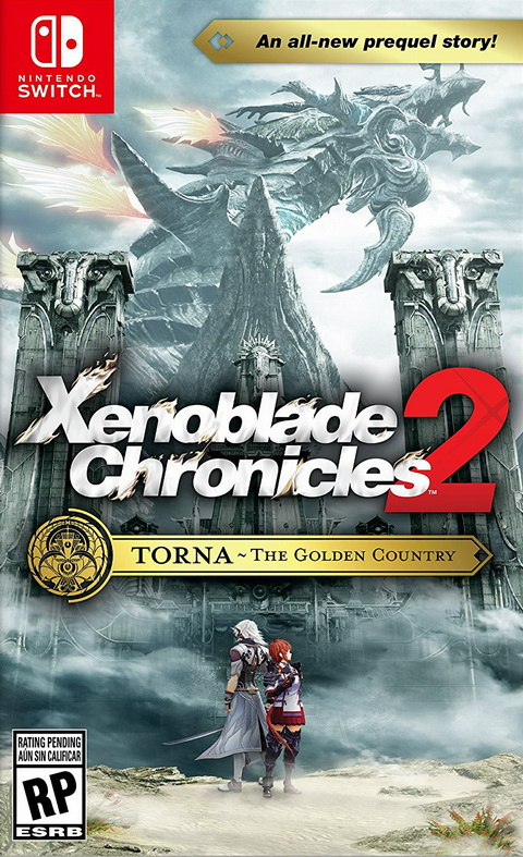 Switch- Xenoblade Chronicles 2: Torna the Golden Country