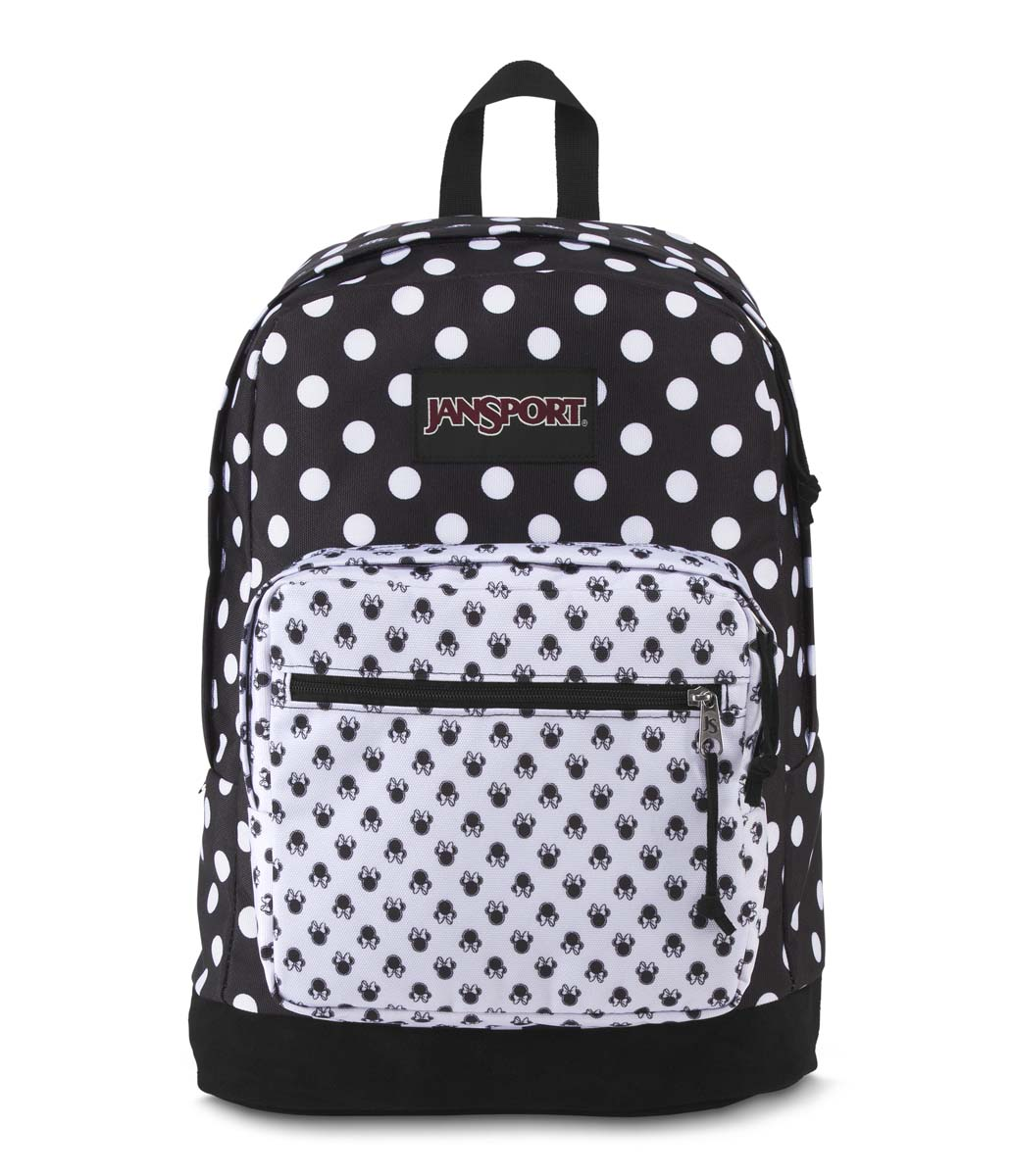 JanSport กระเป๋าเป้ รุ่น DISNEY RIGHT PACK EXPRSNS - DISNEYMINNIEBLACKPOLKADOT