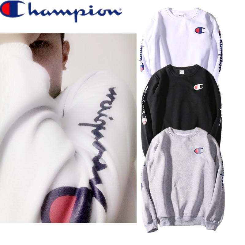 เสื้อ Champion Long Sleeve Logo Printed