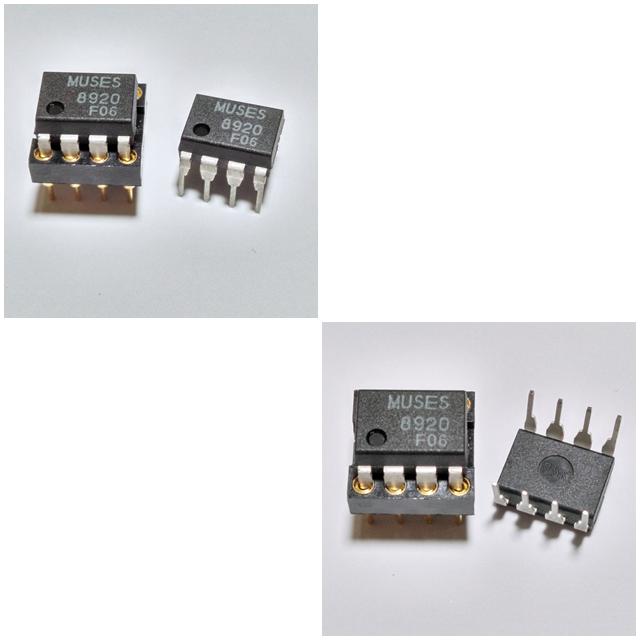"NJR ""MUSES8920D"" Dual OP-Amp"