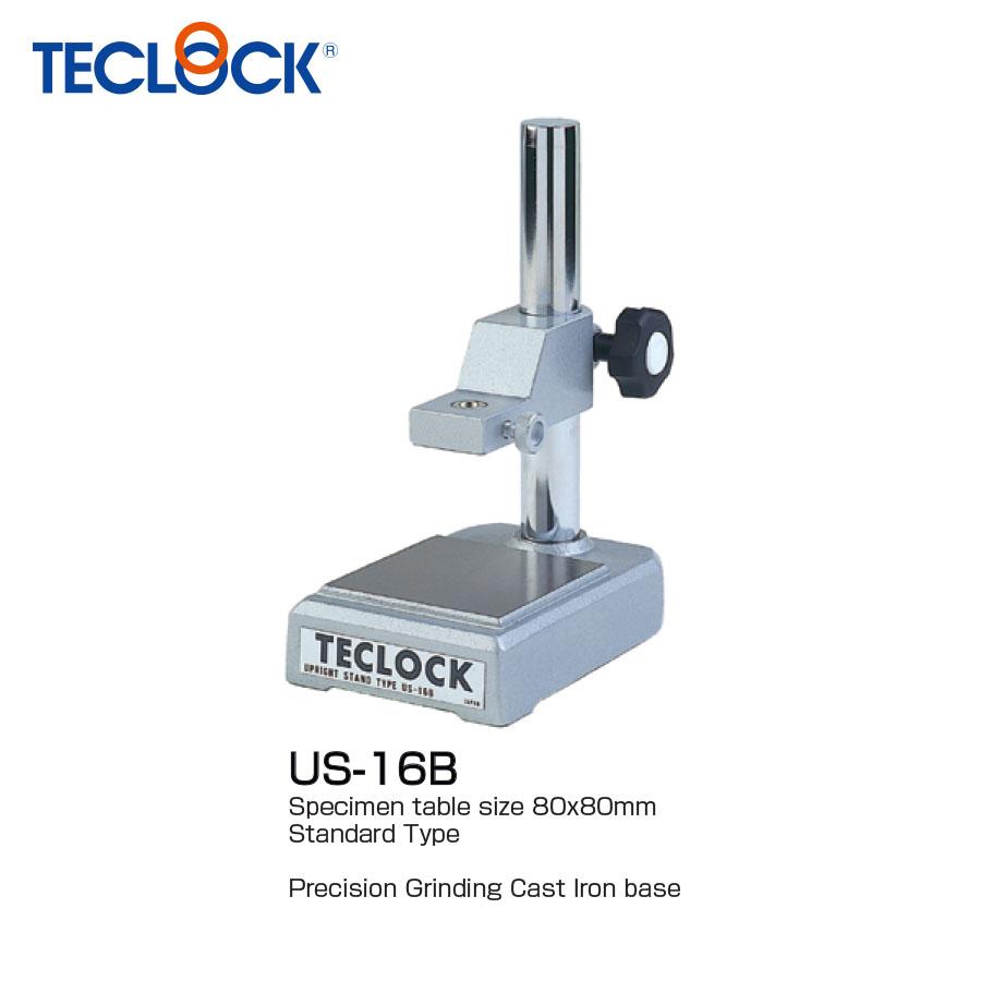 ขาตั้งไดอัลเกจฐานเหล็ก - Upright Stand (US-16B) Teclock